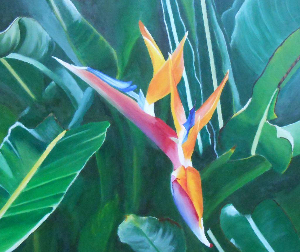 Quadro acrilico su tela - Luce e colori della natura