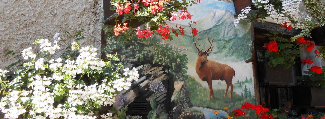 Usseaux: i murales di un borgo alpino