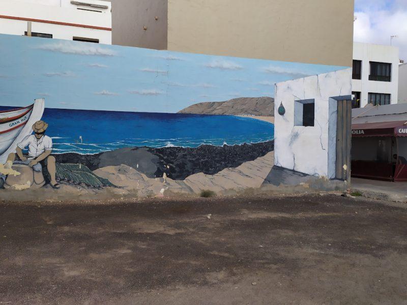 Dipinti a Gran Tarajal